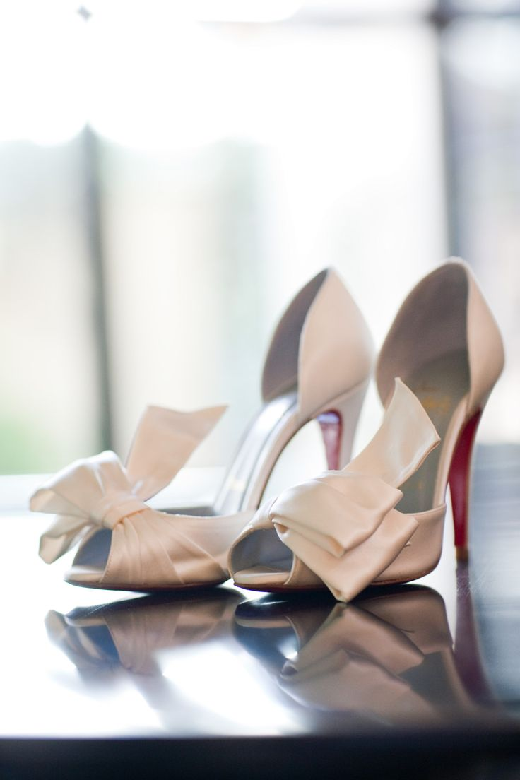 Pretty White Heels