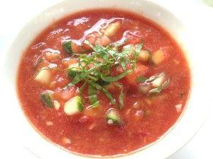 quick classic gazpacho recipe yummly quick classic gazpacho recipes ...