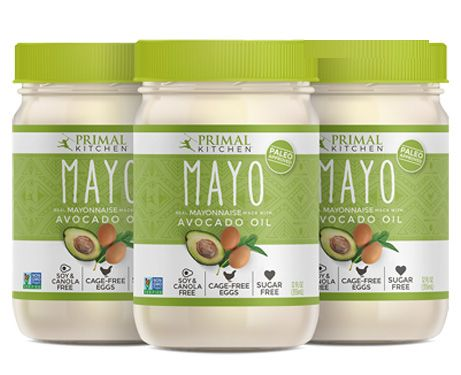 Made With Avocado Oil And Cage-Free this brand new Mayonnaise comes at a sale price of $29.85 from Primal Nutrition.