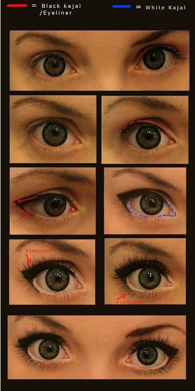 To make your eyes look bigger..