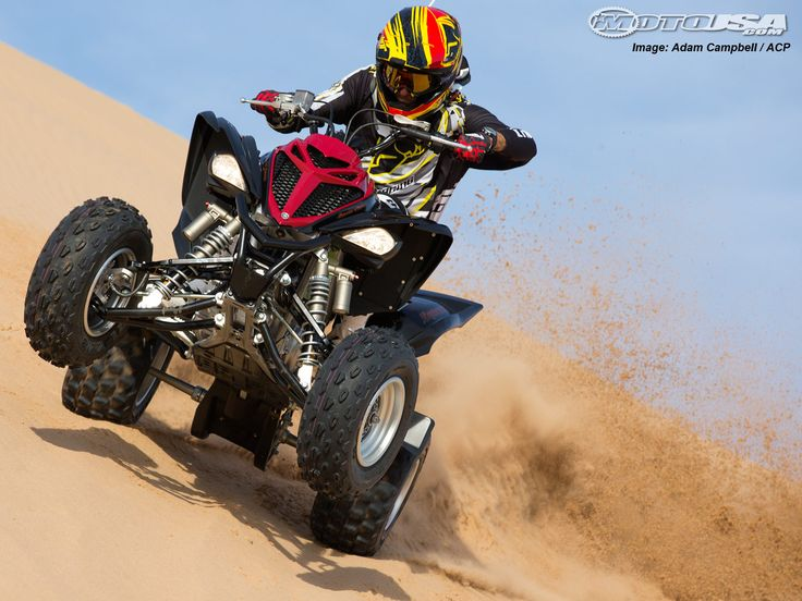 The 2013 Yamaha Raptor 700R has plenty power at its disposal.