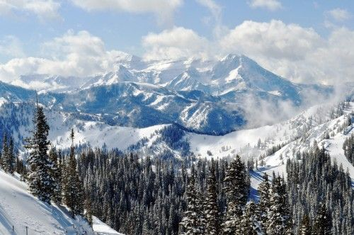 Brighton Ski Resort -- Guess who's learning to snowboard this weekend?! @Shannon Job SO excited!!!