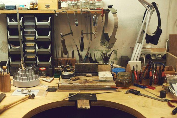 workshop: Takk Jewellery Poland #designing #design #designer #studio #showroom #jewelry #workshop