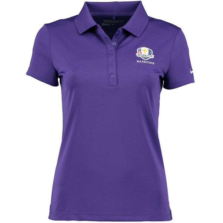 2016 Ryder Cup Nike Women's Victory Golf Polo - Purple