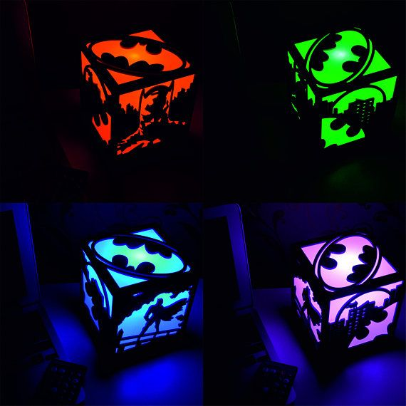 This lamp is an amazing decoration for any room. It provides a soft diffused glow and can be used as a night light, party decor, or your new favorite lantern. There are 16 different LED light colors. You can switch between them with a remote control (included in package). You can set your lamp to glow with one color, or have colors change all the time. There are 4 light modes (flash, strobe, fade and smooth). You can also adjust brightness with the remote control. There are four wood base…