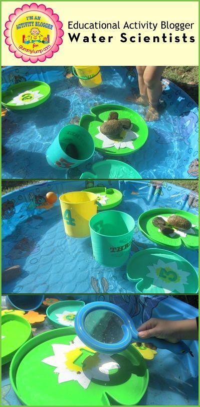 Educational Activity: #Preschool Water Scientists with Samantha from #littlehandsbigwork for #gummylump