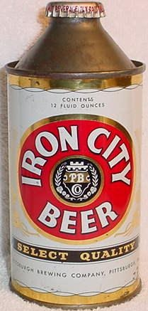 Iron City Beer (Pittsburgh, PA) you could almost taste the iron in the beer from the rivers along the steel mills.