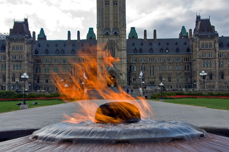 Parliament Hill Centennial Flame