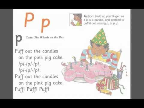 ▶ Letter P_ Jolly Phonics song - YouTube
