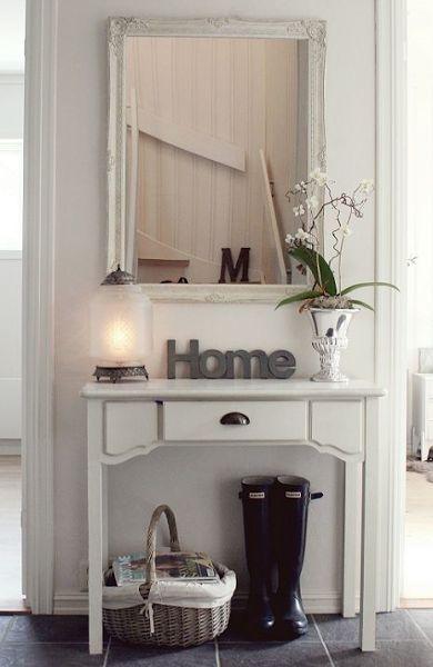 Ideas de recibidores para espacios pequeños   Decoración