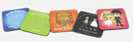 Design your own Coolaz coasters - a great fun gift that can be personalised! Brilliant for seating plans as place name cards!