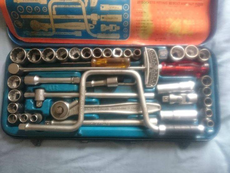 Vintage Elora socket set torque wrench set | eBay