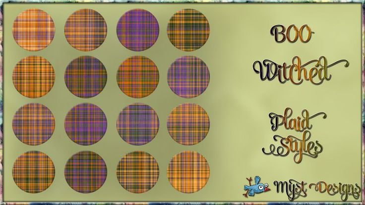 BOO-Witched Plaid Styles