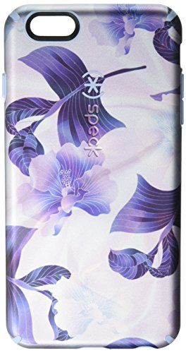 Speck Products Luxury Edition Inked Case for iPhone 6s Plus & iPhone 6 Plus - Retail Packaging - Hawaiian Silk/Blue