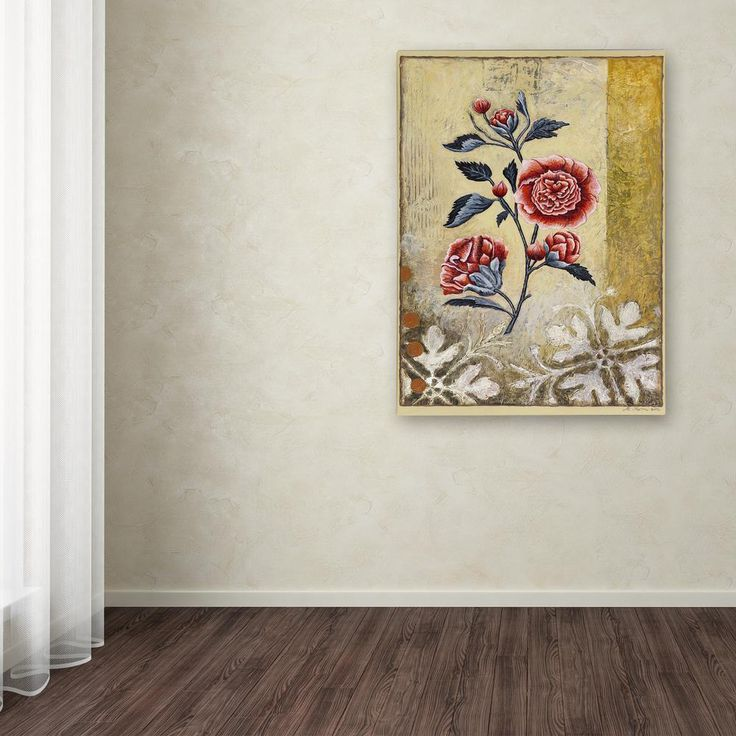 """19 in. x 14 in. """"Halifax Flora"""" by Rachel Paxton Printed Canvas Wall Art"""