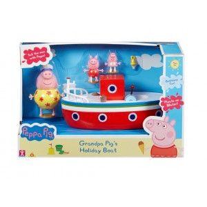 Peppa Pig Grandpa Pig's Holiday Boat   38937   Kidstuff