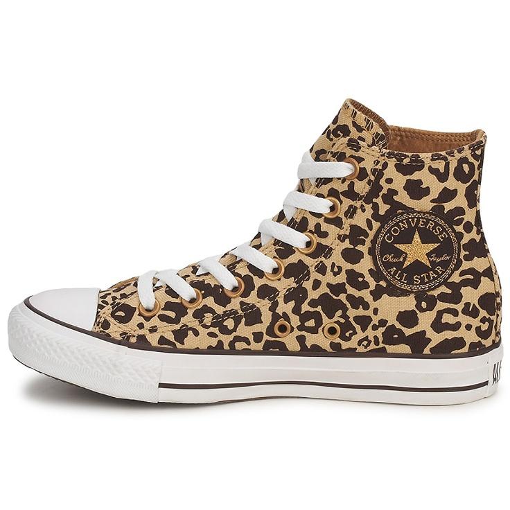 Høje sneakers Converse ALL STAR CHEETAH PRINT HI Panter - Gratis levering med Spartoo.dk ! - Sko Dame 585,00 Kroner