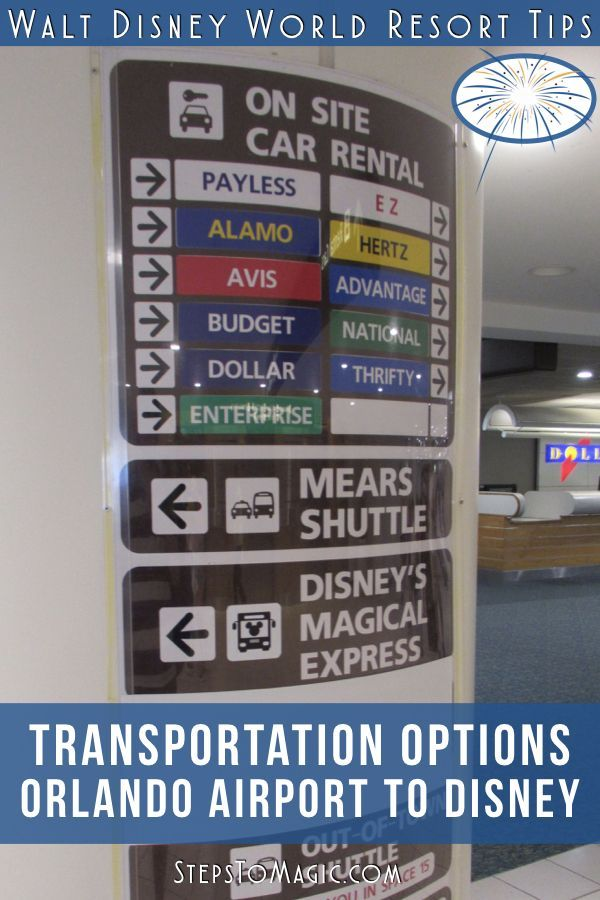 Transportation Options From Orlando International Airport With