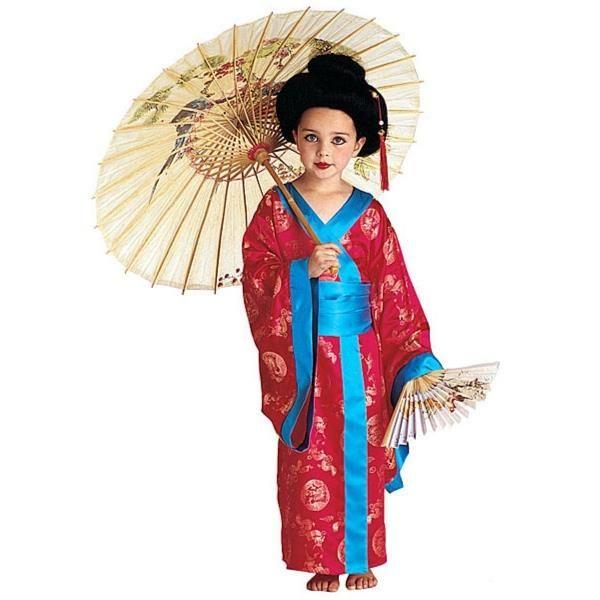 Карнавальный костюм гейша