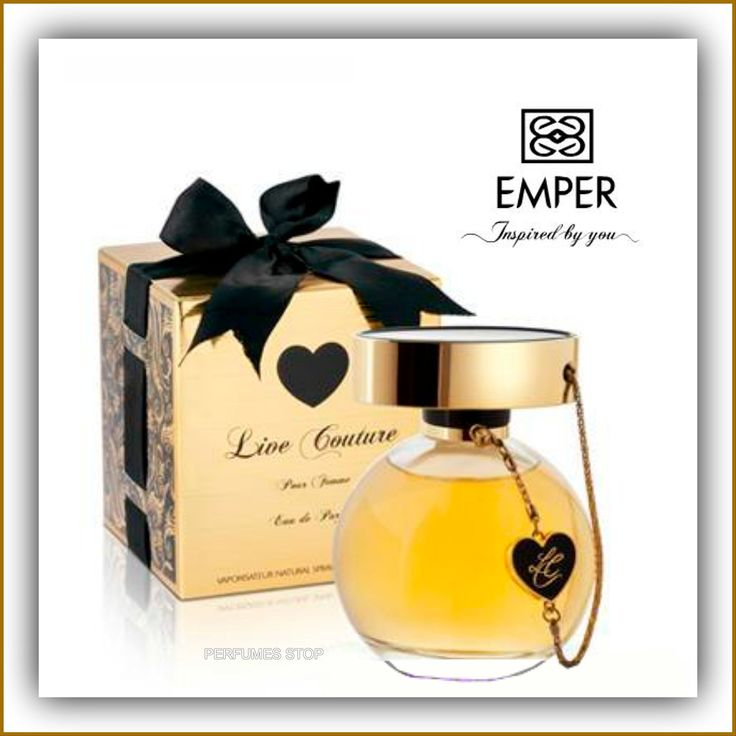 Live Couture Emper for Women 3.4 Fl Oz. Emper Perfume. Live Couture Emper for Women 3.3 oz.
