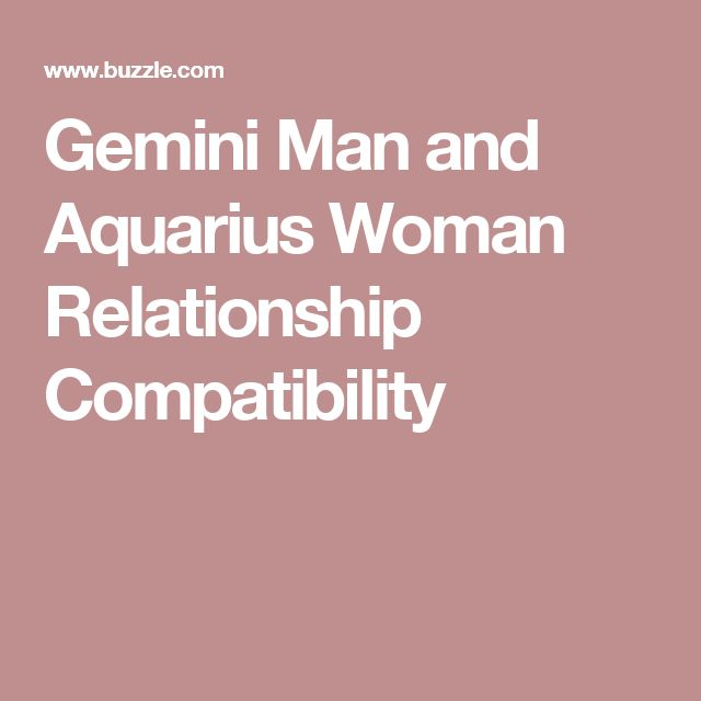 aries woman and gemini relationship