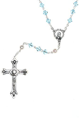 NOTE: Because each rosary is uniquely handmade the centers and crucifixes may vary. For Rosary Customizations: Order Ship by ROSARIES4U (shipped directly from usdo not order Fulfilled by Amazon). Please contact us prior to ordering if you would like a specific center ie a Mary a chalice for First Communion or Holy Spirit for Confirmation. Rosary Customizations MUST be ordered directly from ROSARIES4U. We cannot modify rosaries shipped directly from the Amazon warehouse. We will make every…