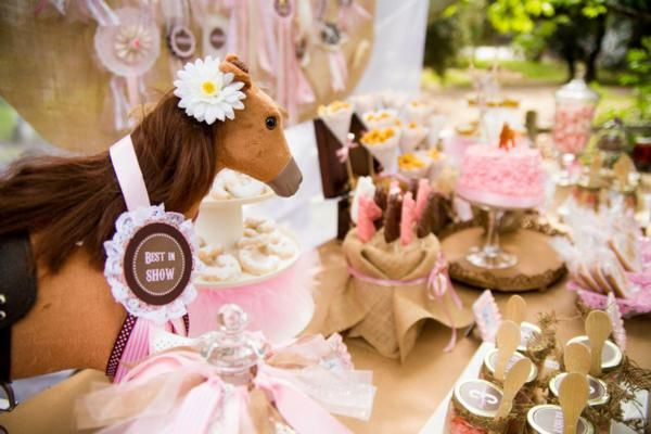 pony party for Leah