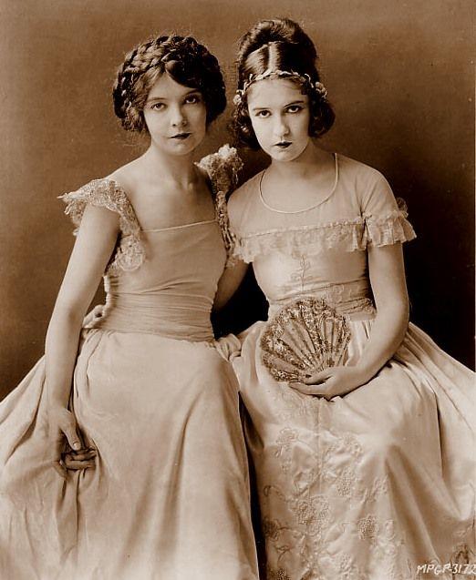 Lilian and Dorothy Gish
