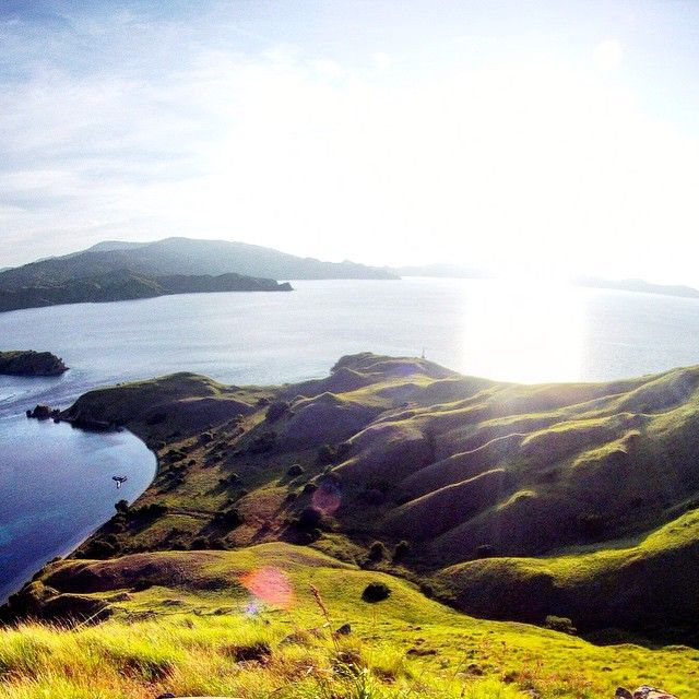 A stunning view from Gili Lawa Darat.
