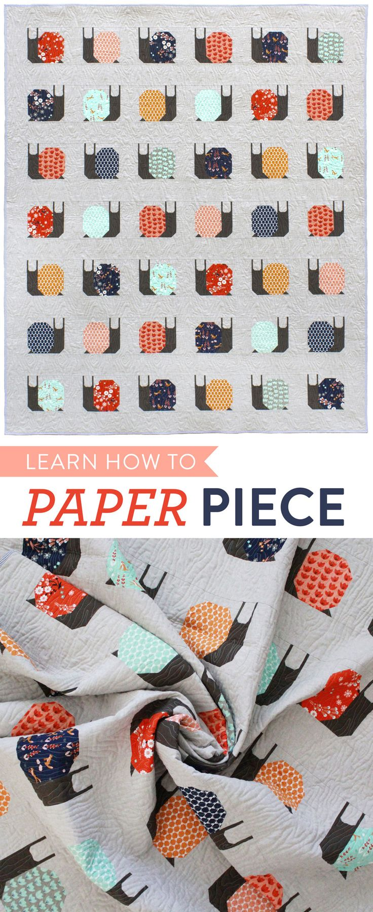 Learn-How-to-Paper-Piece like a pro! Tips, Tricks, Supplies and a video tutorial!