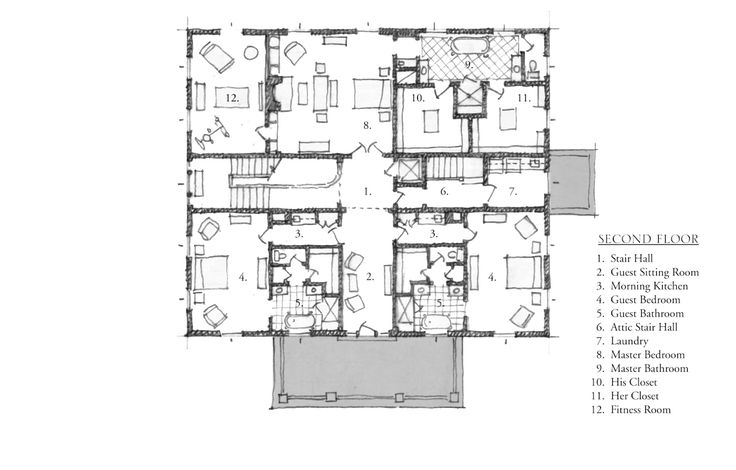 Best 498 floor plans images on pinterest architecture for Historical concepts architects
