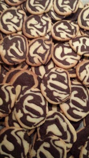 Zebra småkager