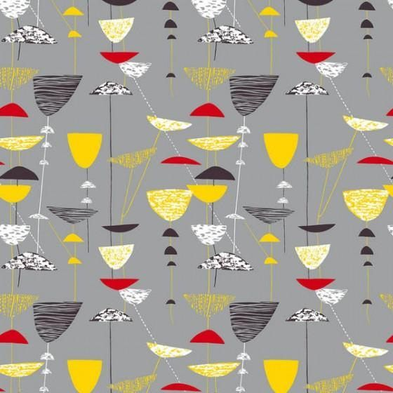 Lucienne Day's Calyx. Iconic 50s mid century modern vintage design.