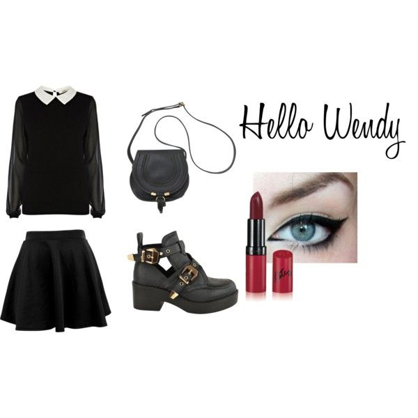"""hello wendy"" by misserica92 on Polyvore"