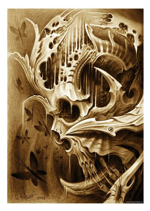 Tattoo artwork, awesome!