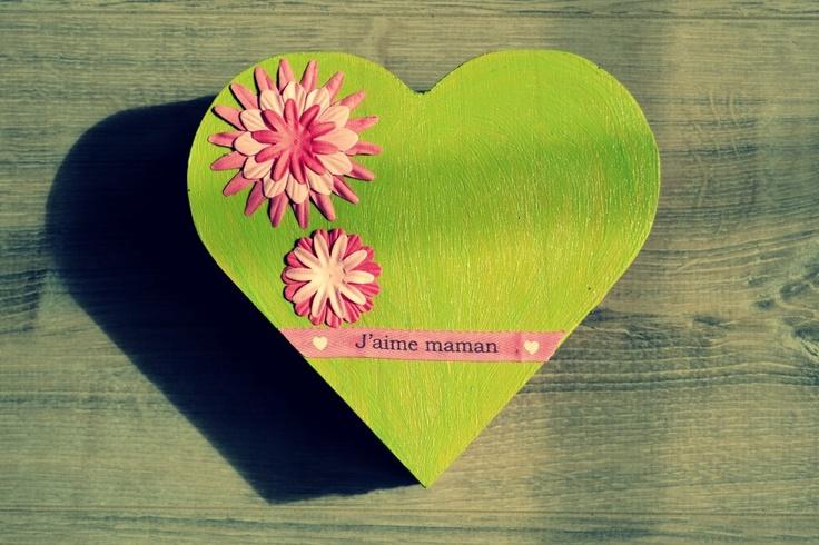 DIY la boîte à bijoux verte par Maman à tout faire pour le concours Surprise pour la fête des mères de Rougier & Plé