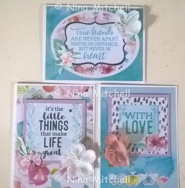 NM cards - Uniquely Creative Kit Club March 2017 - Wildflower Collection 2