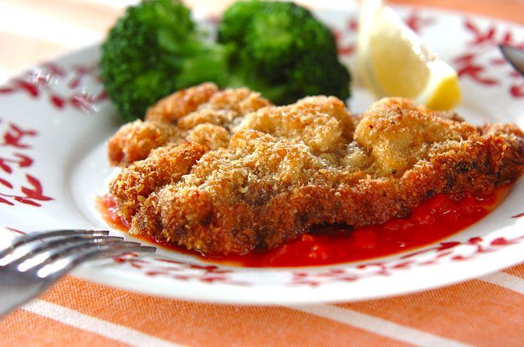 ミラノ風カツレツ【E・レシピ】料理のプロが作る簡単レシピ/2012.09.03公開のレシピです。