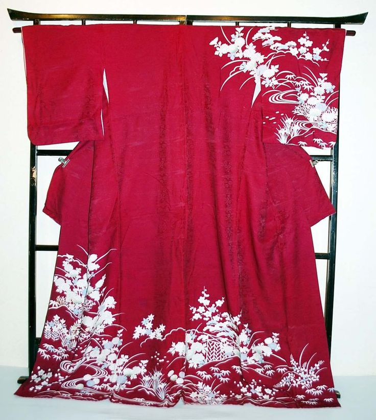 Japanese Vintage Women Kimono Robe Wedding Robe Sexy Night Gown Asian Bathrobe | eBay