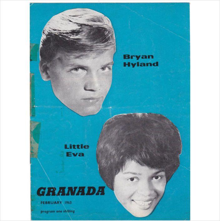 Granada February 1963 program with Bryan Hyland & Little Eva on eBid United Kingdom