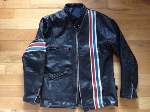 Veste cuir johnny knoxville