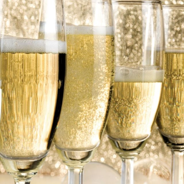 Local sparkling wines and authentic French Champagnes. Perfect for any celebration.