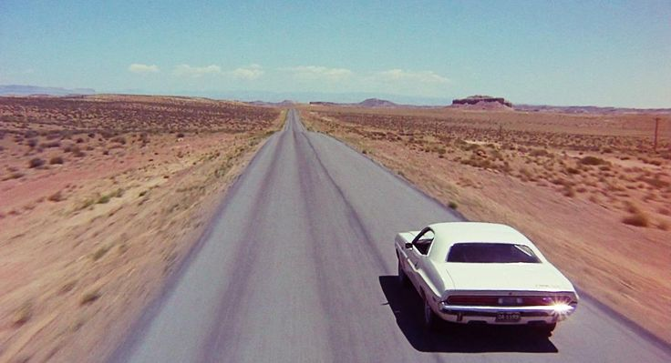 Clip from the movie Vanishing Point