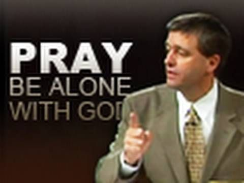 Pray and Be Alone With God ||| Paul Washer at HeartCry 2006 Conference — Session #1 via YouTube