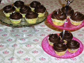 El pasado fin de semana ha sido el cumpleaños de mi hermana, ella no puede tomar azúcar, y había prometido hacerle unos cupcakes sin azú...