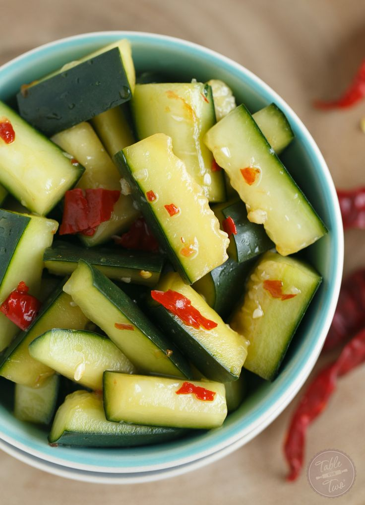A refreshing starter for any meal! This spicy Chinese cucumber salad will kickstart your tastebuds and give you a salty sweet combo along with it!