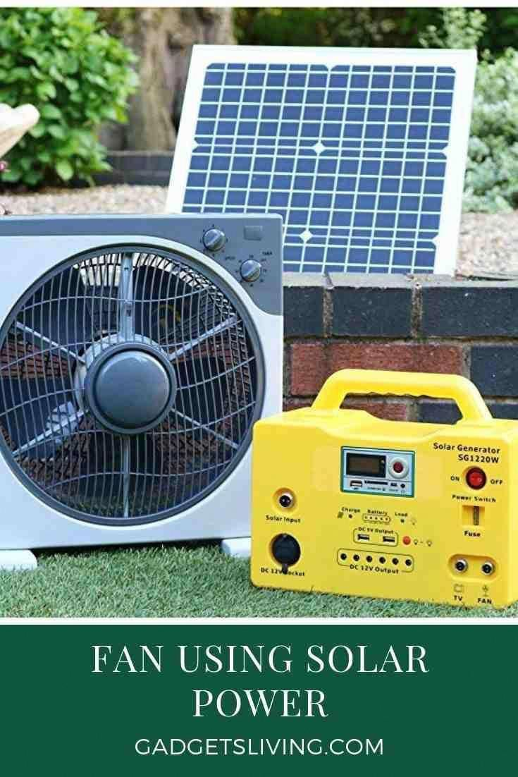 Fan Using Solar Power Solarenergy Solarpanels Solarpower Solarpanelsforhome Solarpanelkits Solarpoweredgenerator Sol In 2020 Solar Powered Fan Best Solar Panels Solar