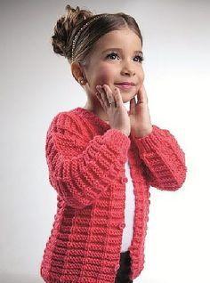 Chaqueta coral rosa para niñas  03803ef7ede5