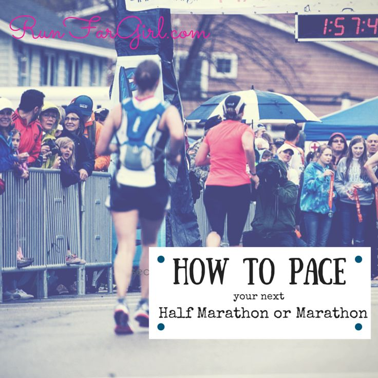 How to Pace your next Marathon or Half Marathon: 5 foolproof tips | Run Far Girl