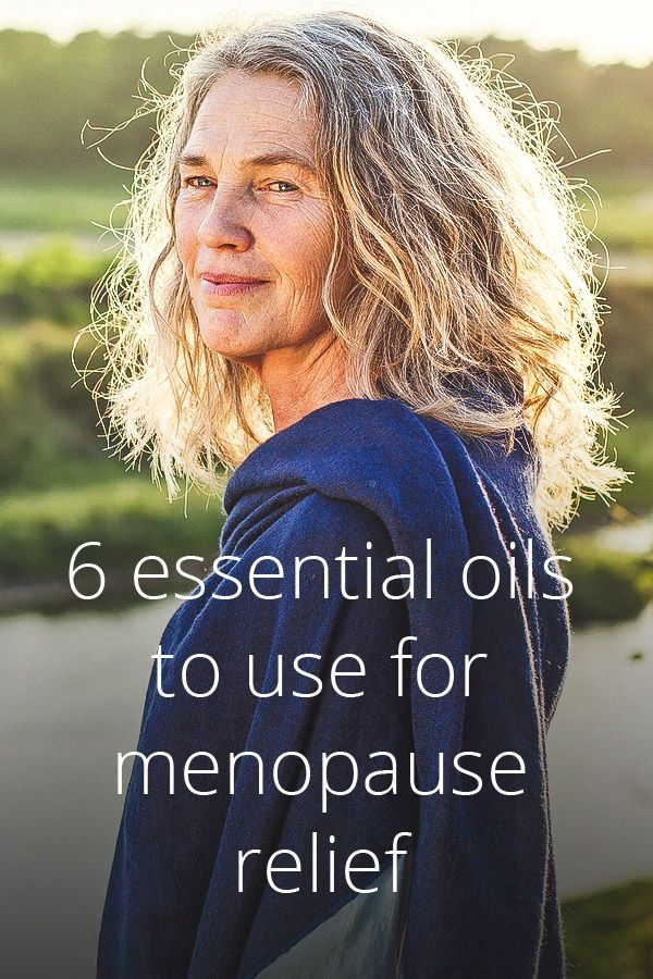 Some essential oils like peppermint and clary sage have been found to provide relief for menopause symptoms